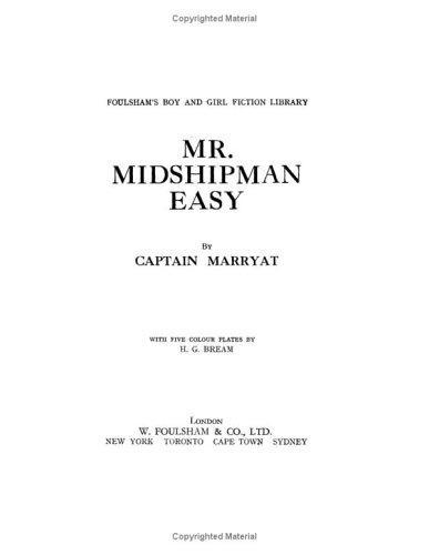 Download Mr. Midshipman Easy