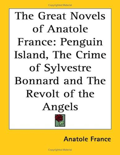 Download The Great Novels of Anatole France