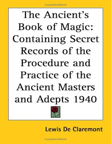 Download The Ancient's Book of Magic