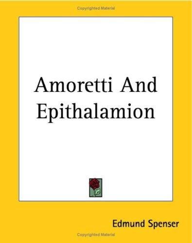 Amoretti by Edmund Spenser