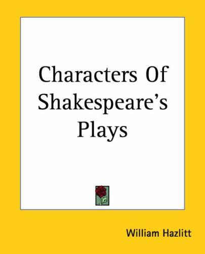 Download Characters Of Shakespeare's Plays