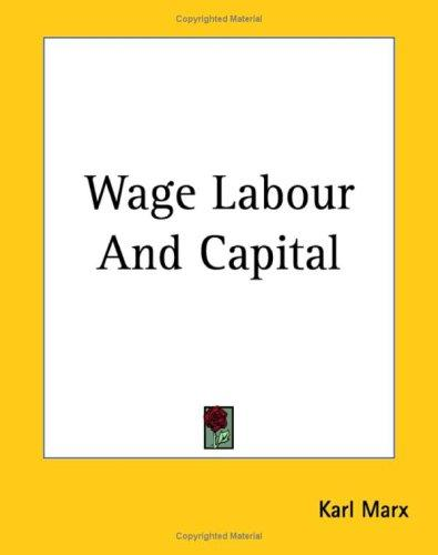 Download Wage Labour And Capital