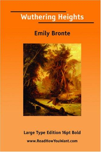 Wuthering Heights (Large Print) by Emily Brontë