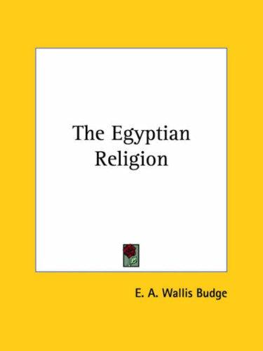 Download The Egyptian Religion