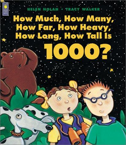Download How Much, How Many, How Far, How Heavy, How Long, How Tall Is 1000?