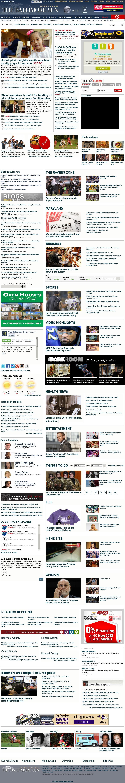 The Baltimore Sun at Thursday Nov. 29, 2012, 9:01 a.m. UTC