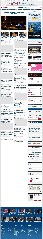 Politico at Monday March 18, 2013, 9:18 a.m. UTC