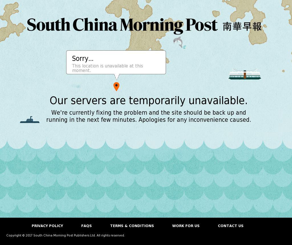 South China Morning Post at Saturday Oct. 7, 2017, 10:12 p.m. UTC
