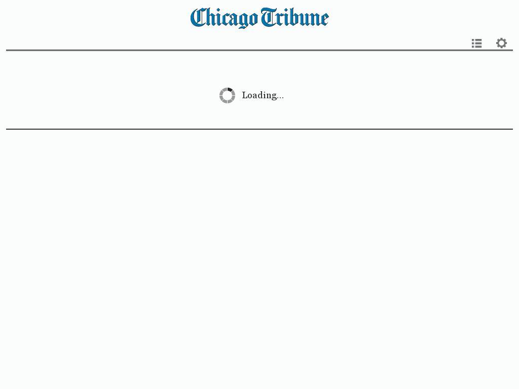 Chicago Tribune at Monday Feb. 1, 2016, 7:02 a.m. UTC