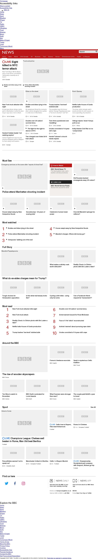 BBC at Tuesday Oct. 31, 2017, 10 p.m. UTC