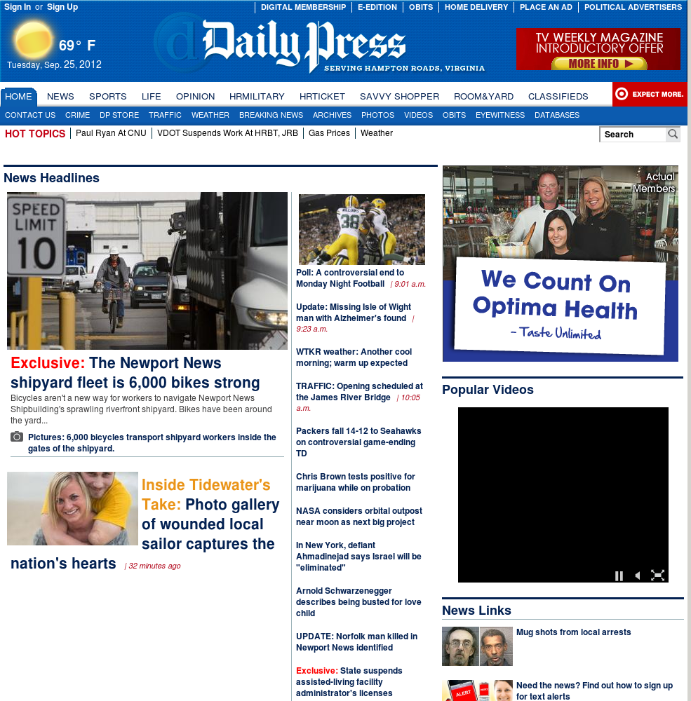 (Hampton Roads) Daily Press