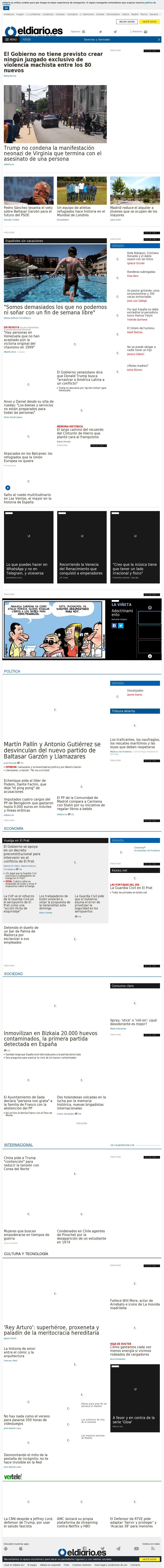 El Diario at Sunday Aug. 13, 2017, 6:02 a.m. UTC