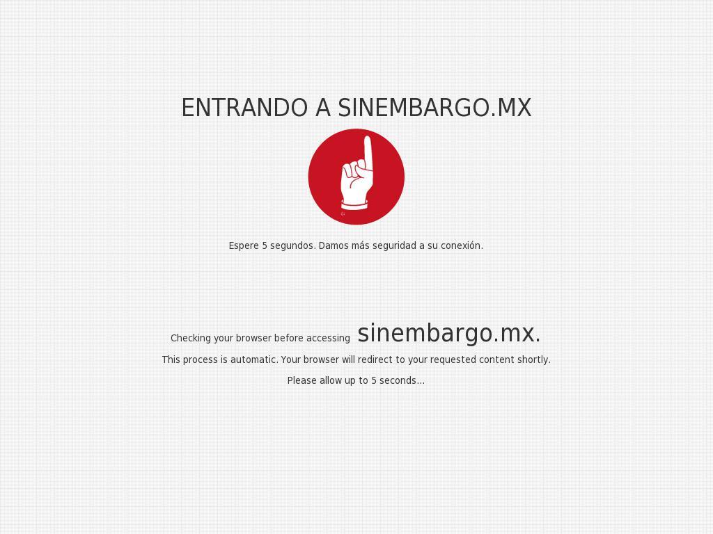Sin Embargo at Saturday July 1, 2017, 5:19 p.m. UTC