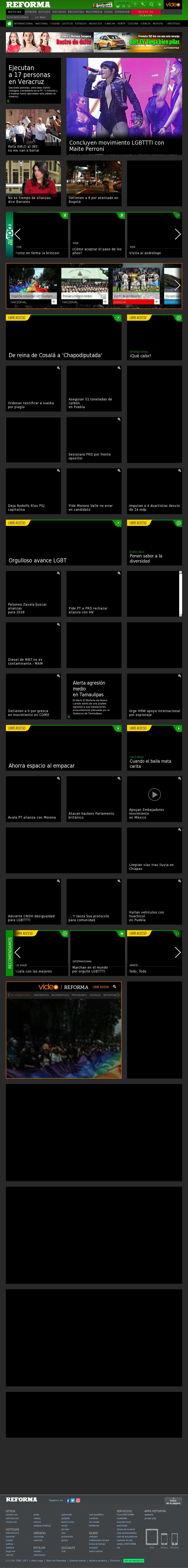 Reforma.com at Sunday June 25, 2017, 8:13 a.m. UTC