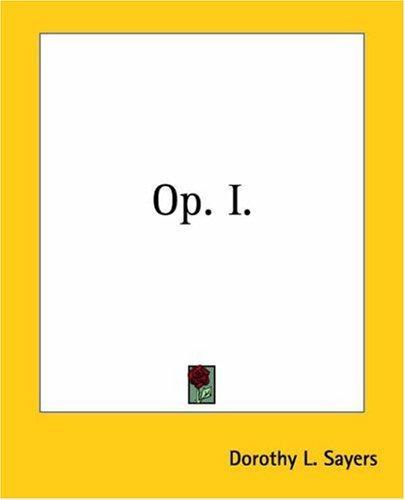 Op. I.